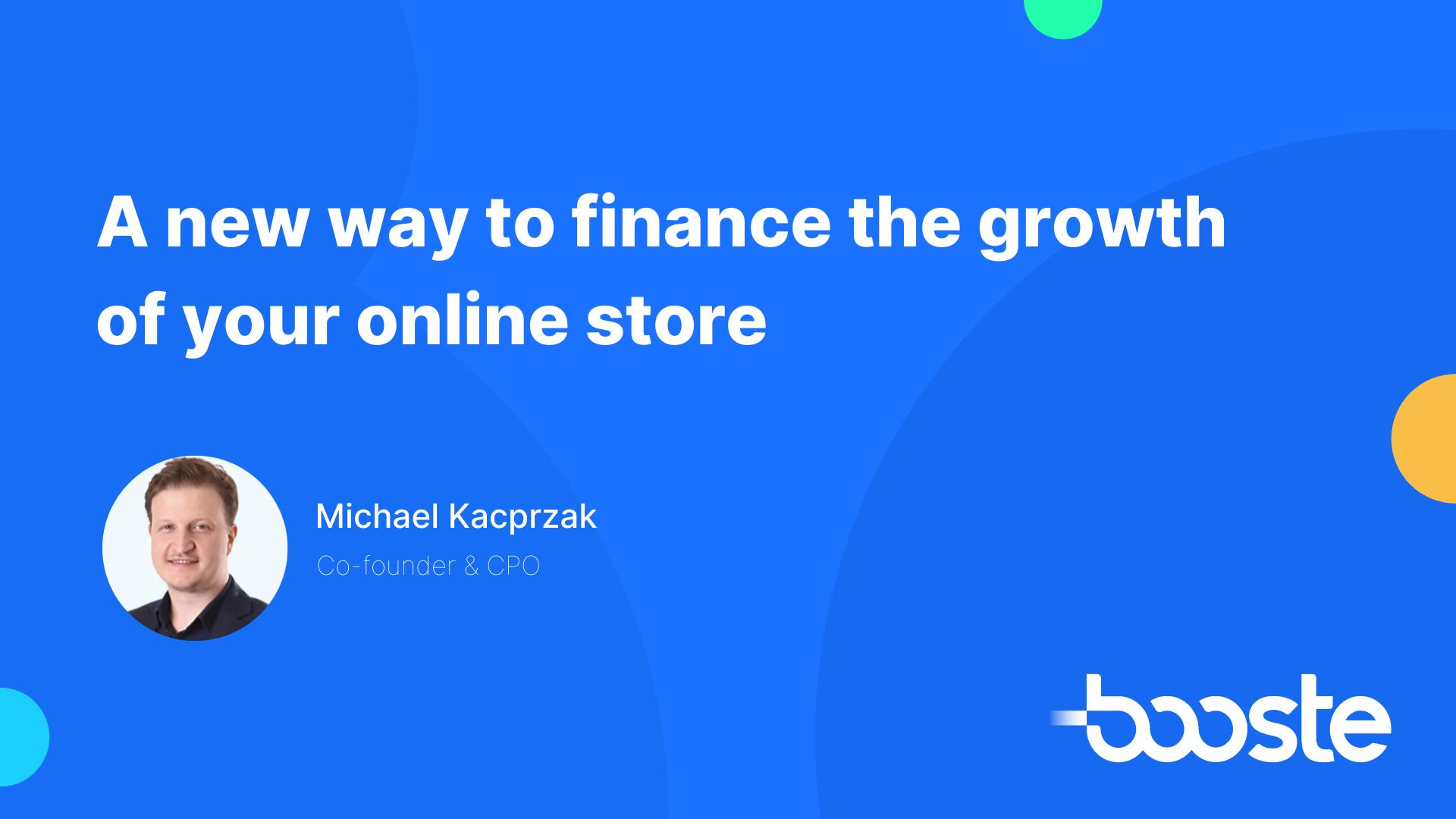 new way to finance growth